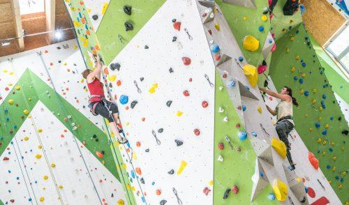 Artikelbild zu Artikel Kletterhallen