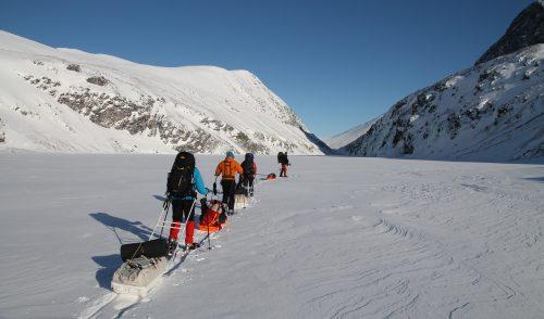 Artikelbild zu Artikel Winterbergsteigen in Norwegen