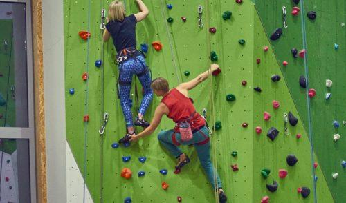 Artikelbild zu Artikel Neu: Jeden Donnerstag Inklusiver Klettertreff