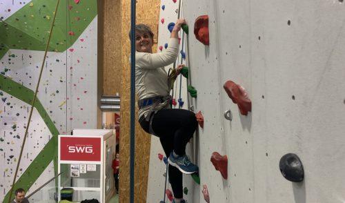 Artikelbild zu Artikel Gottesdienst mit Klettern