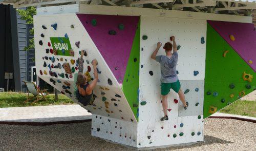 Artikelbild zu Artikel Boulderwürfel freigegeben: Ein Dank an die Sponsoren