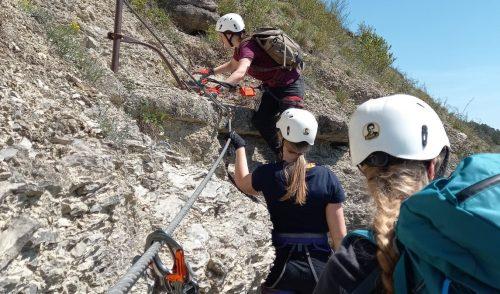Artikelbild zu Artikel Zum Saisonstart: Klettersteigtraining für Anfänger