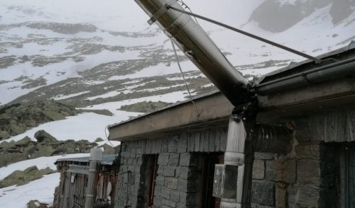 Artikelbild zu Artikel Lawine beschädigt Winterraum der Gießener Hütte